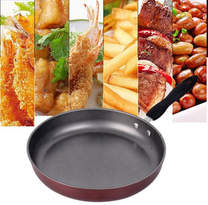 Non-Stick Oil-Free Frying Pan | Aluminium Grill Pan