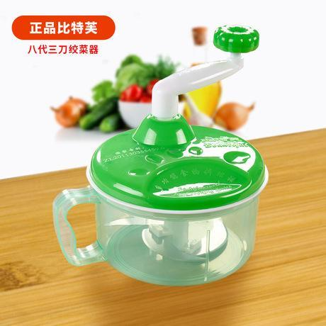 Hand-Rotating Vegetables and Fruits Cutter | Manual Vegetable Chopper - Ginax Store