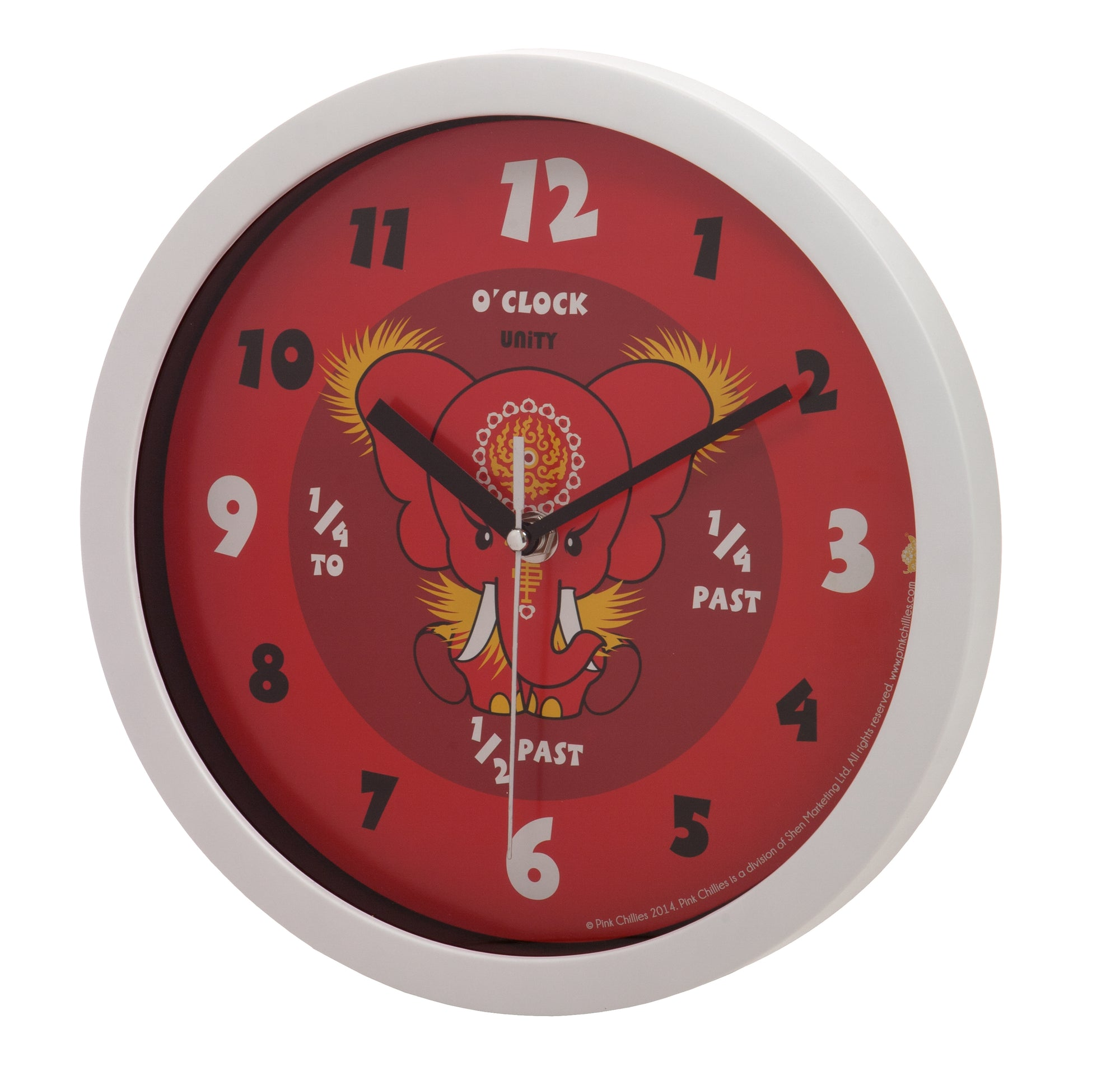 80% Off a Kids Wall Clock - Only £1 + Delivery
