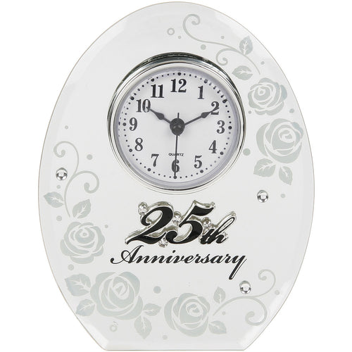 25th Anniversary Clock