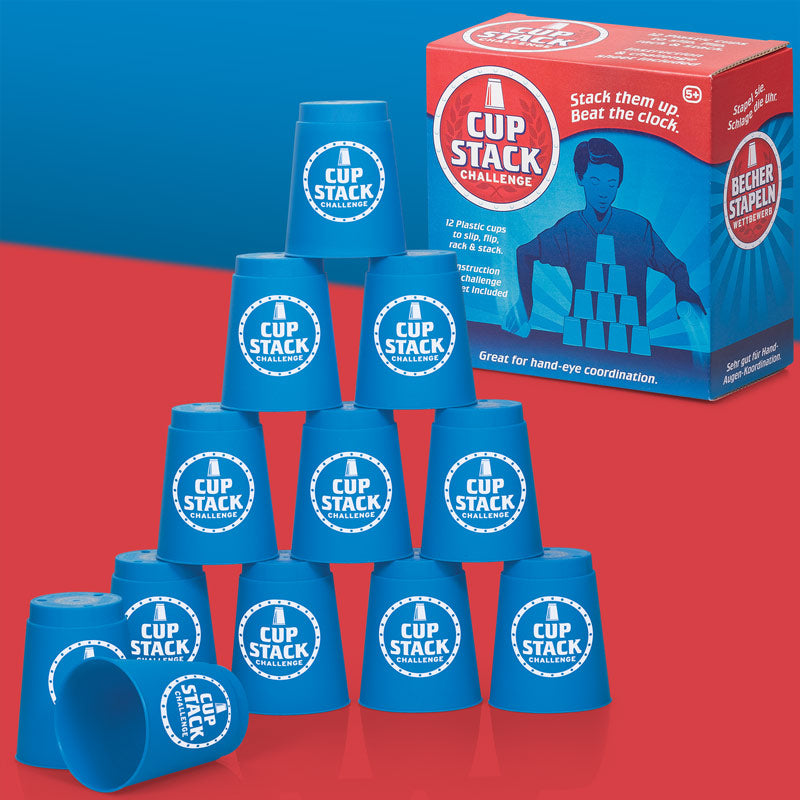 Cup Stack Challenge Game