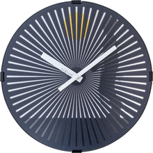 Load image into Gallery viewer, NeXtime - Wall clock- Ø 30 cm – Plastic – Motion clock-  Black – 'Walking Man'