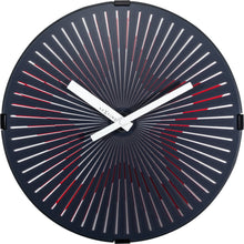 Load image into Gallery viewer, NeXtime - Wall clock- Ø 30 cm – Plastic – Motion clock-  Red – 'Motion Star – Red'