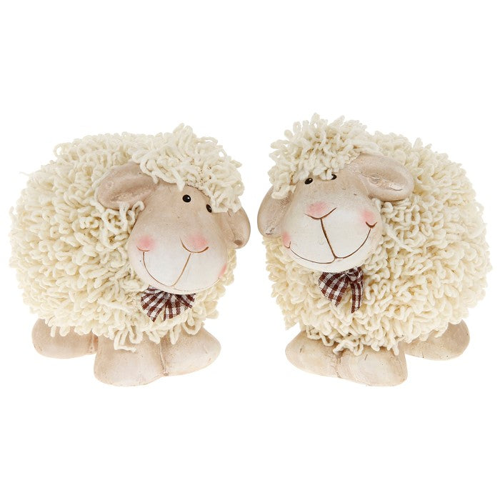 Shaggy Sheep Ornament