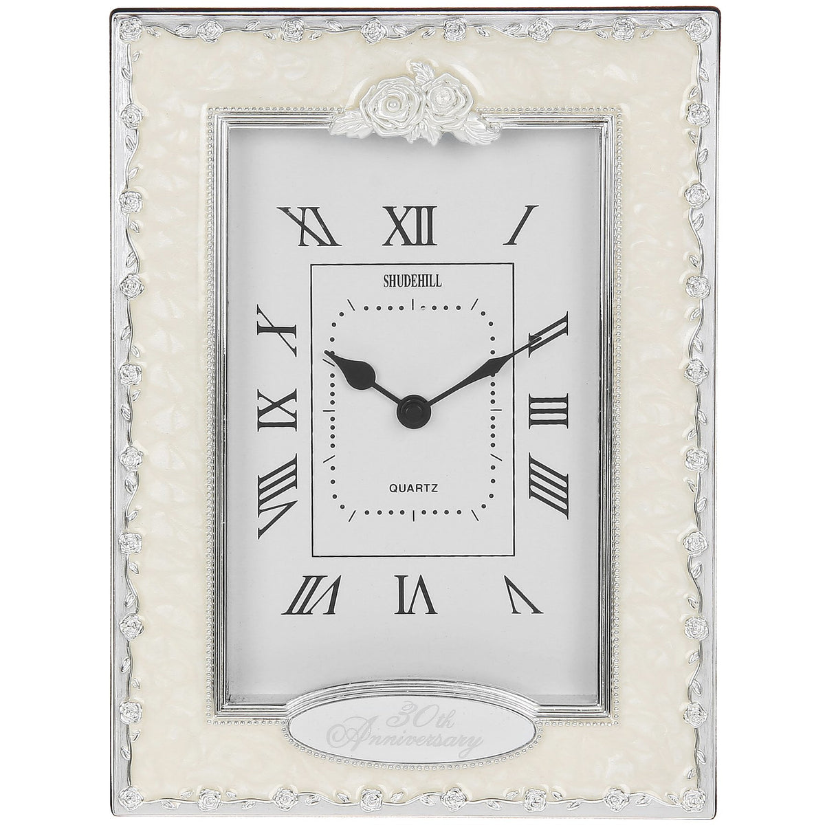 30th Anniversary Table Clock