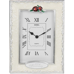 40th Anniversary Table Clock