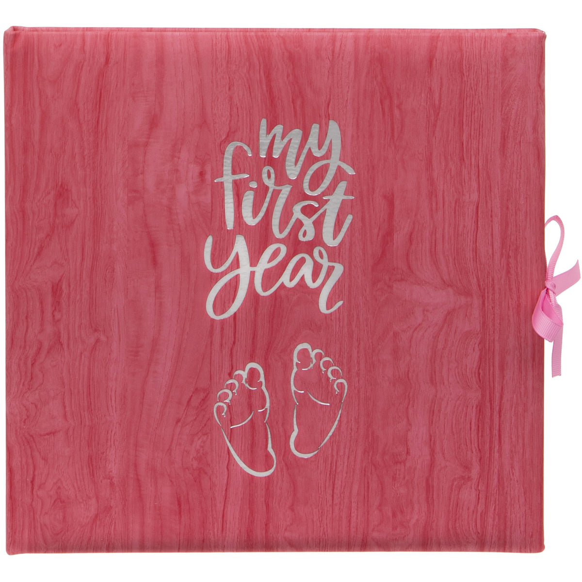 Baby Record Book in Pink