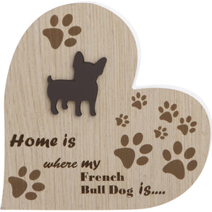 French Bull Dog Plaque