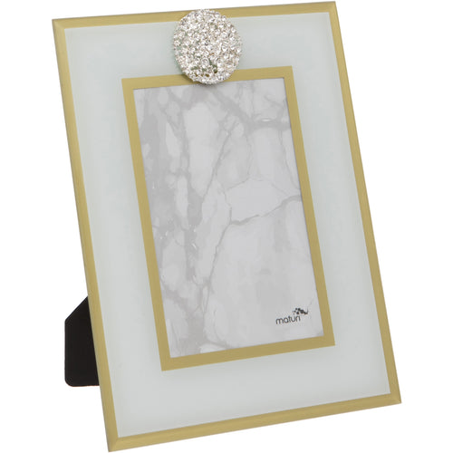 Diamante Glass Frame 6 x 8-Inch