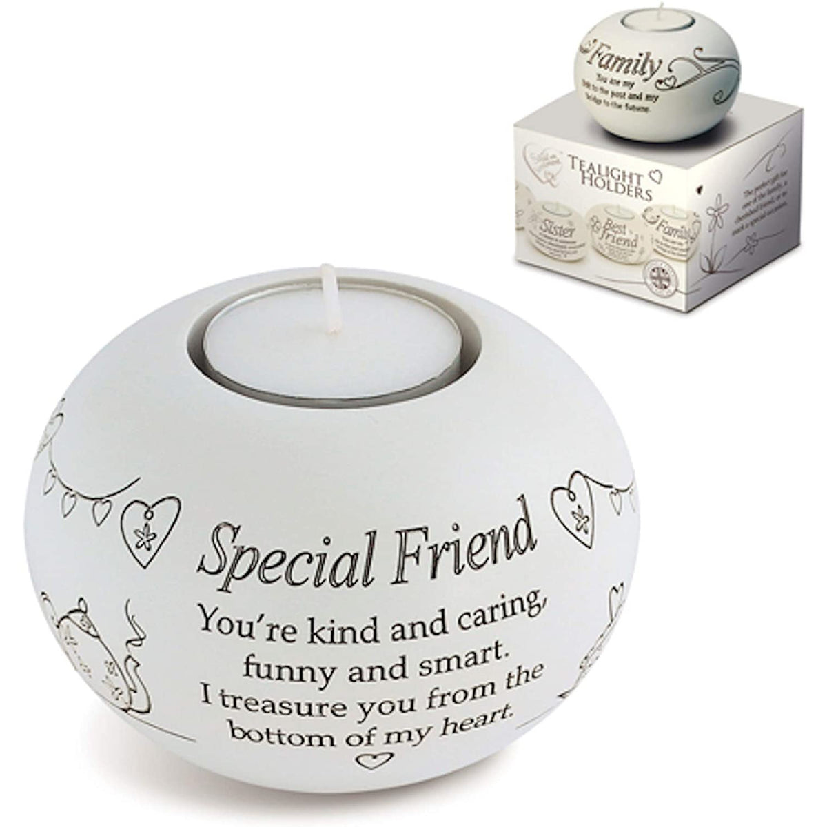 Special Friend Tealight Holder