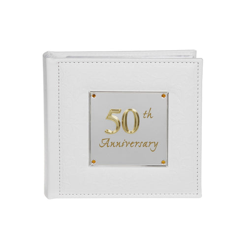 50th Wedding Anniversary Photo Album