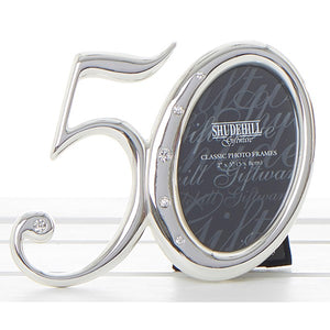 50th Birthday Photo Frame