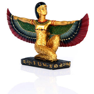 Golden Isis Figurine Wings Stretched