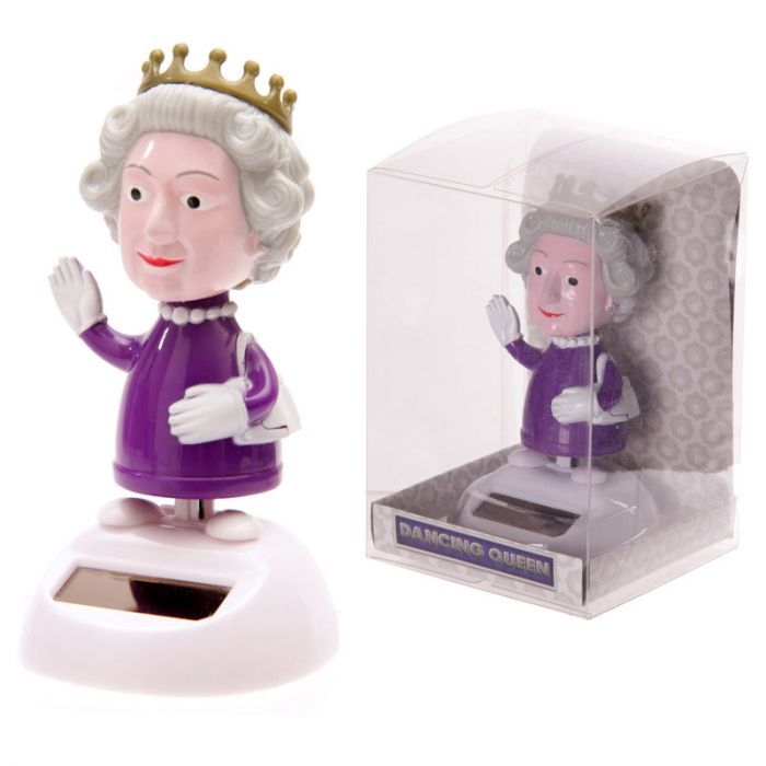Solar-Powered Dancing Queen Figurine
