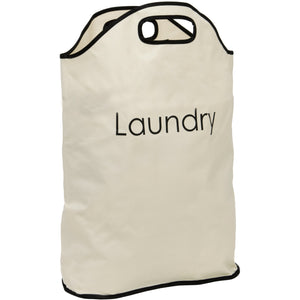Cream Laundry Bag