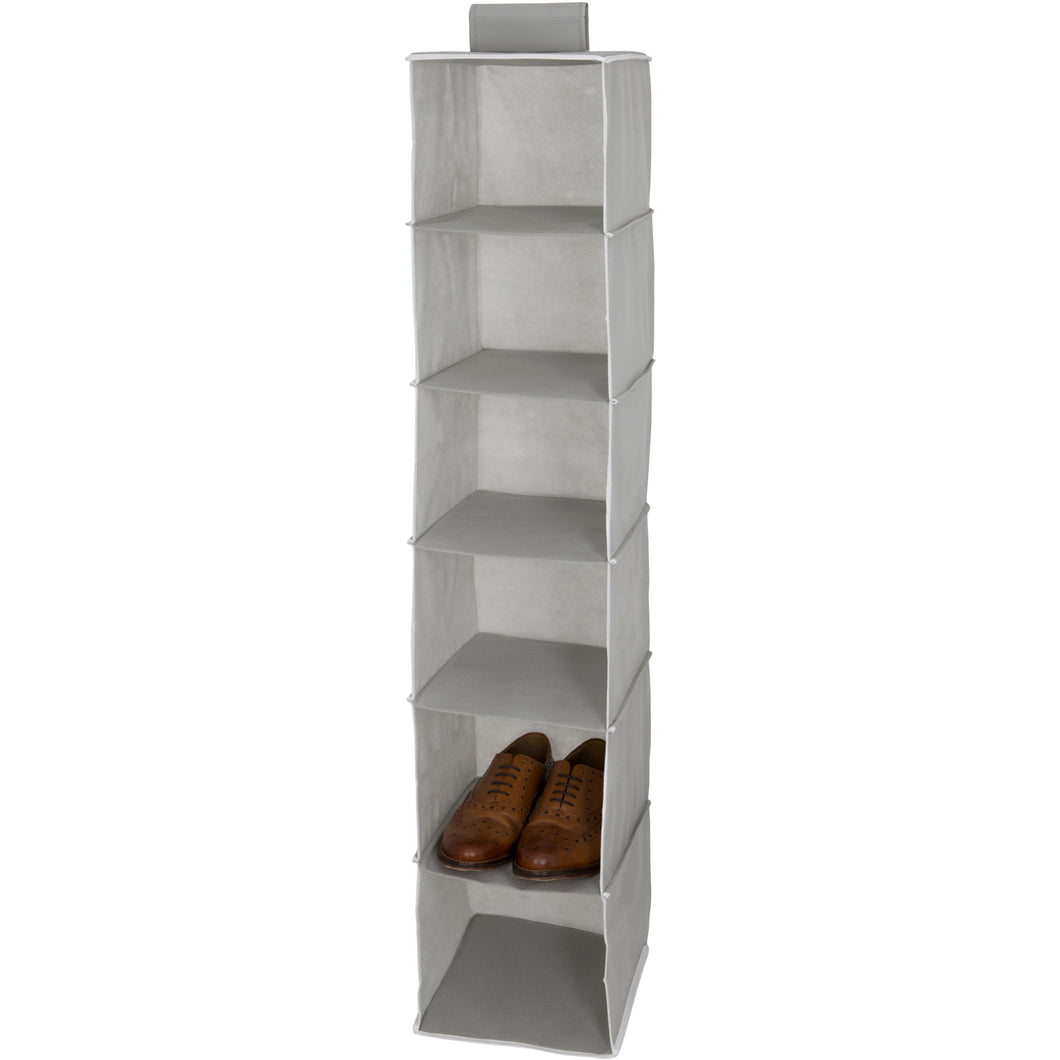 Grey and White Shoe Holder