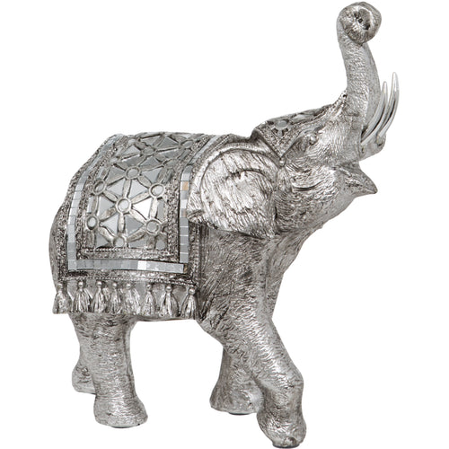 Thai Elephant with Decorative Shawl