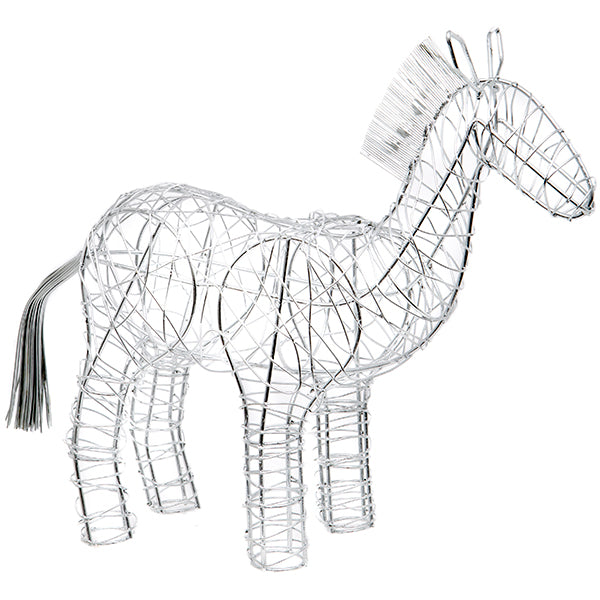 Decorative Wire Horse