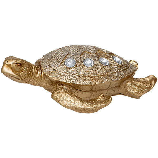 Gold Turtle Ornament