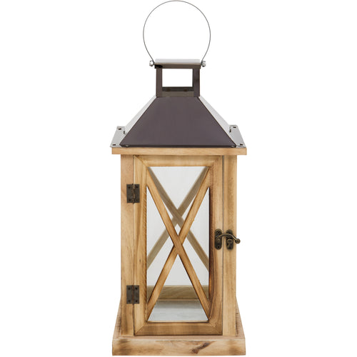 Indoor Wood Lantern