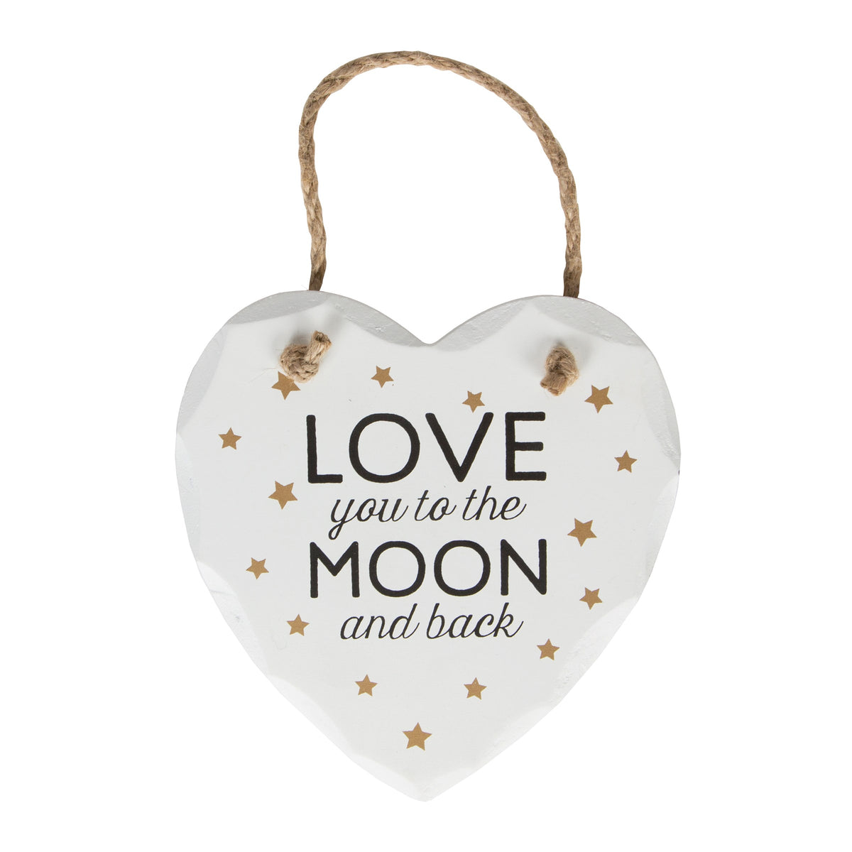 Sass and Belle Love You To The Moon And Back Plaque