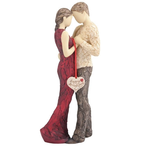 Happy Anniversary Figurine