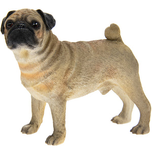 Pug Dog Figurine