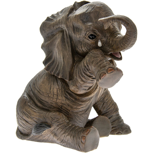 Missing You Teardrop Elephant Figurine