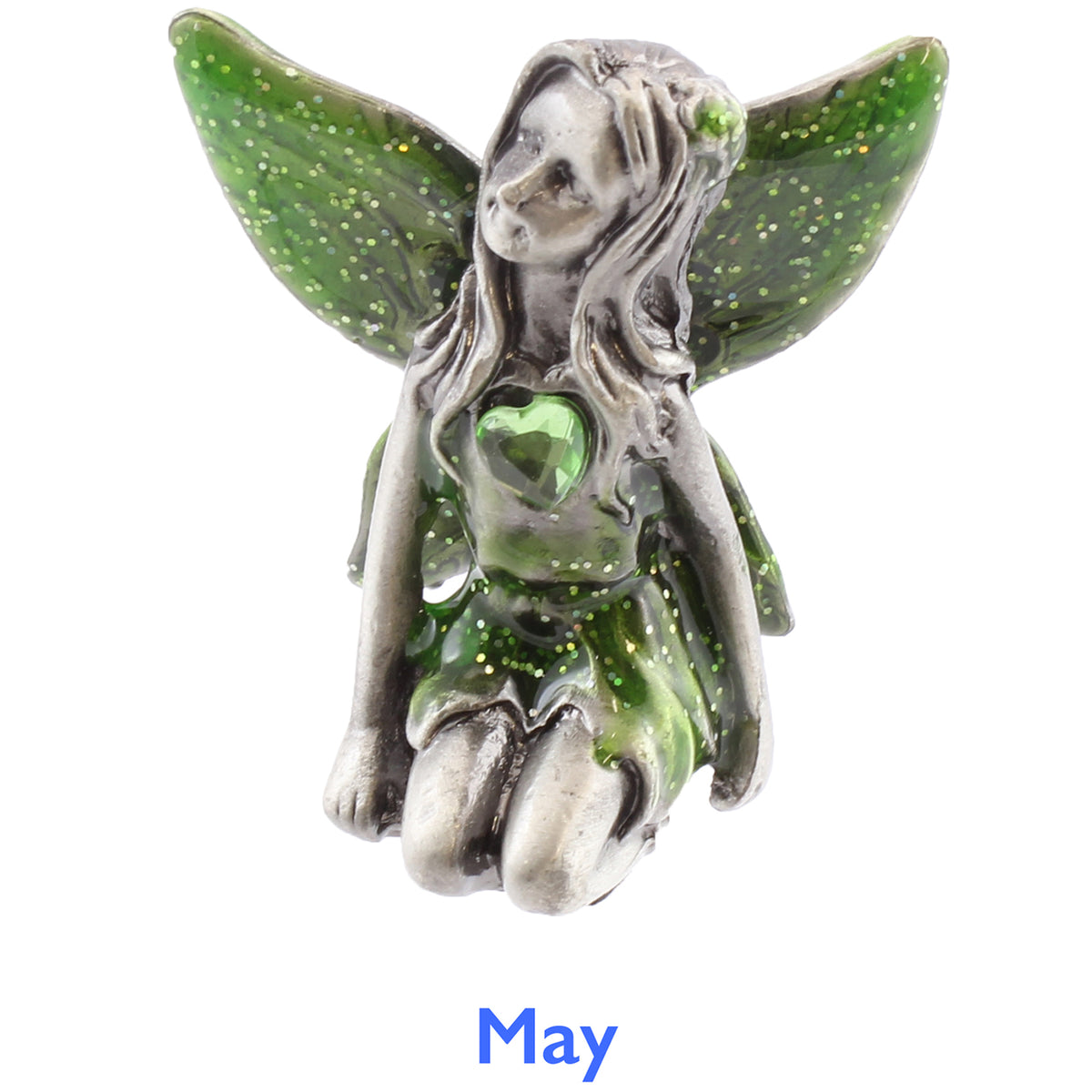 Pewter Birthstone Fairy - May