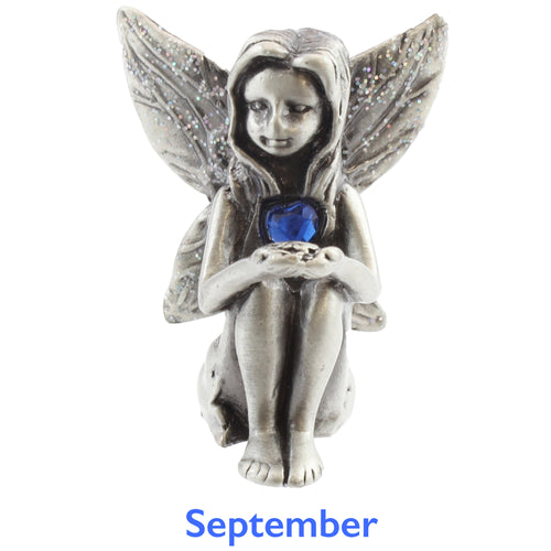 Pewter Birthstone Fairy - September
