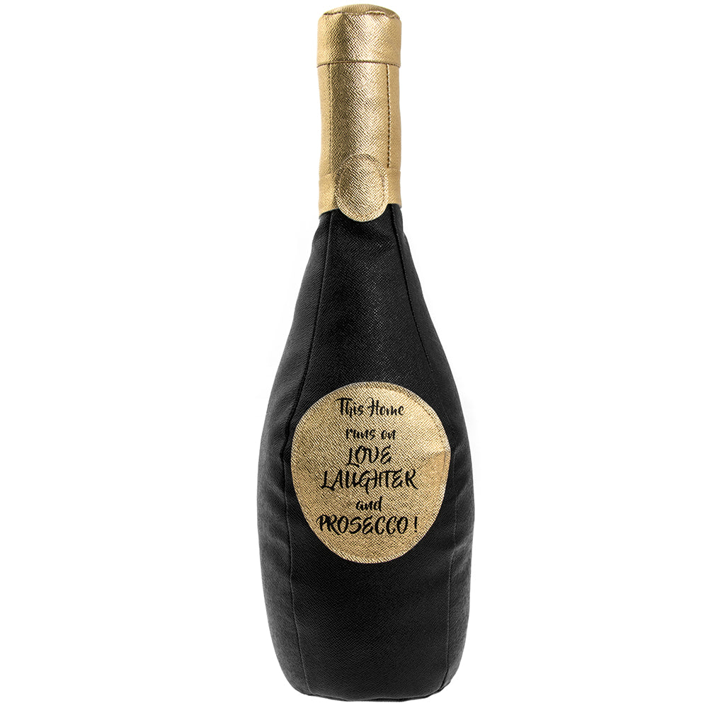 Prosecco Bottle Shaped Door Stop
