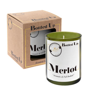 Merlot Wine Scented Candle