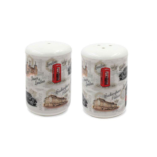Vintage London Salt & Pepper Set