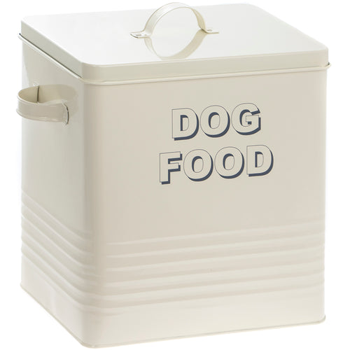 Extra Large Dog Tin in Cream