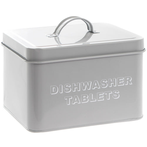 Grey Dishwasher Tablets Tin