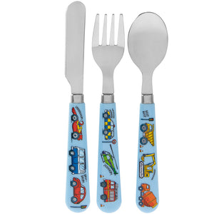 Vehicle Design Baby Cutlery Set