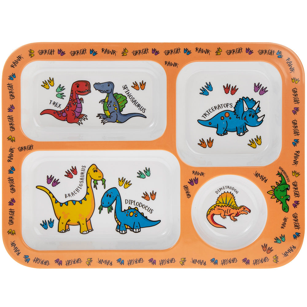 Dinosaur Food Tray