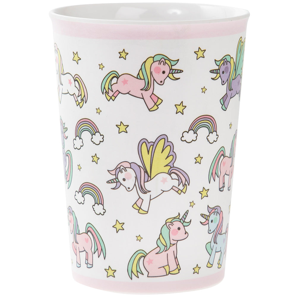 Little Stars Unicorn Design Beaker Cup