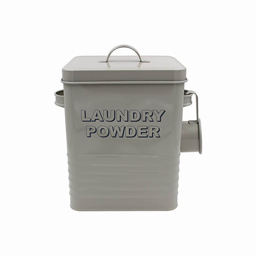 Sage Green Laundry Powder Box