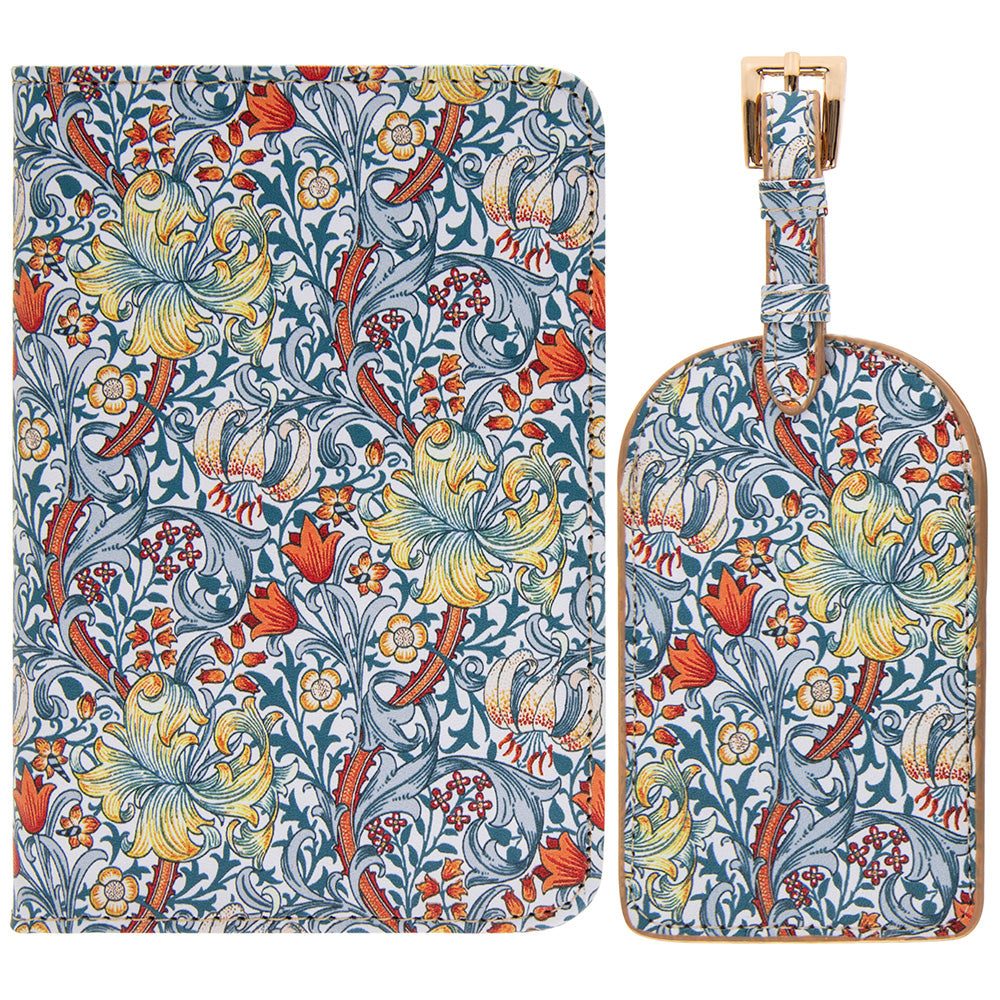William Morris Golden Lily Design Travel Set