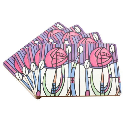 Set of 4 Mackintosh Design Placemats