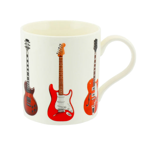 Guitar Design Fine China Mug
