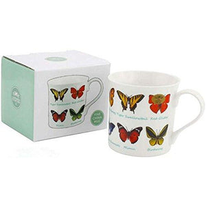Butterfly Breeds Fine China Mug