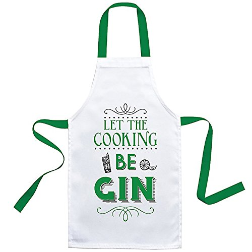 Let The Cooking Be Gin Apron