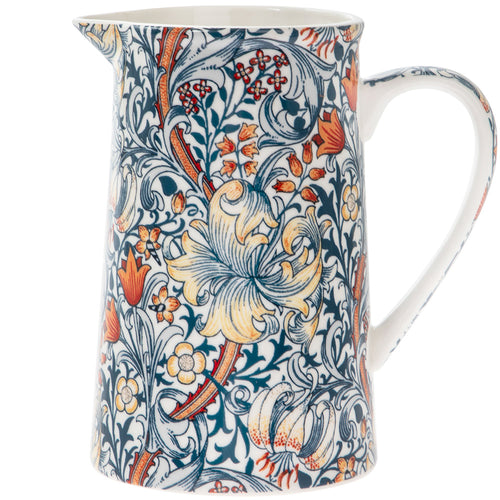 Golden Lily Jug