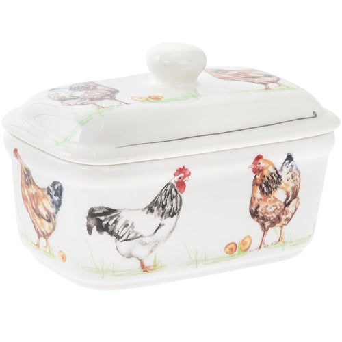Chicken's Butter Dish