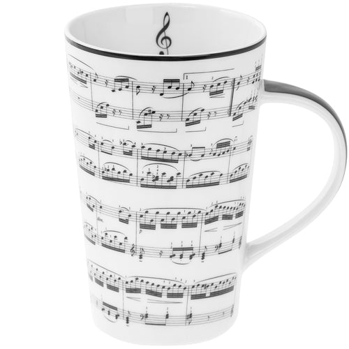 Making Music Latte Mug