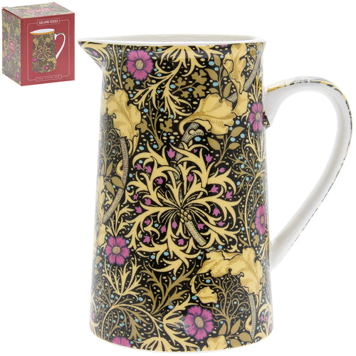 William Morris Seaweed Design Jug