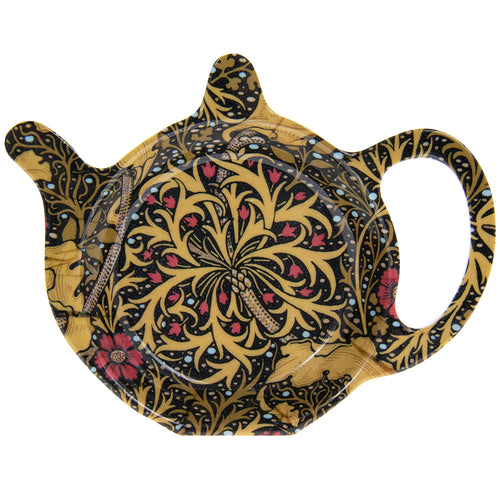 William Morris Seaweed Design Teabag Tidy