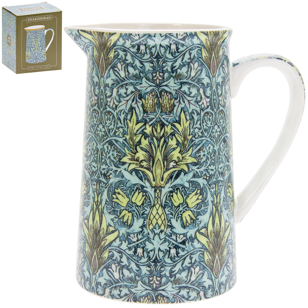 William Morris Snakeshead Design Jug